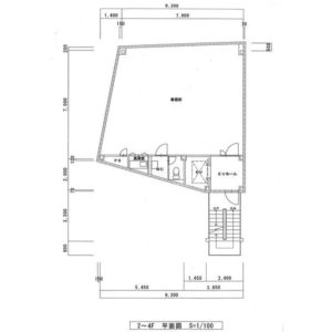 メイト3ビル平面図